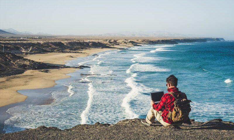 werken als digital nomad